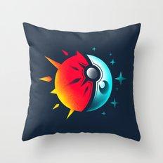 Solis et Lunae Throw Pillow