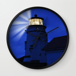Oregon Heceta Head Lighthouse - Shine Your Protective Light Wall Clock