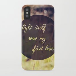 My First Love iPhone Case