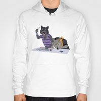 cocaine Hoodies featuring cocaine wolves by Dyna Moe