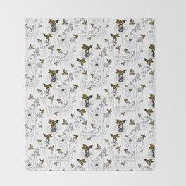 bees knees Throw Blanket