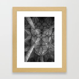 Looking Up - Mondesee Abbey, Salzburg Framed Art Print