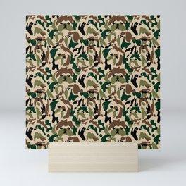 Shih Tzu Camouflage Mini Art Print