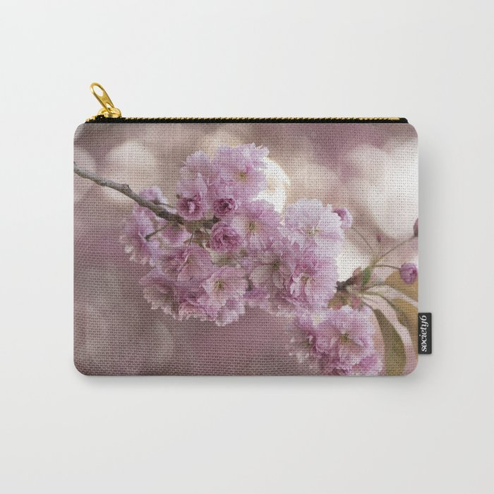 Japanese cherryblossoms in LOVE Carry-All Pouch