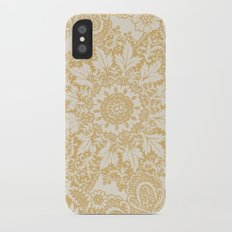 Floral in Yellow Slim Case iPhone X