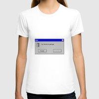 fandom T-shirts featuring Fandom Garbage Alert by insomniac zach