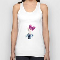 fashion illustration Tank Tops featuring fashion illustration by Ivy Gao