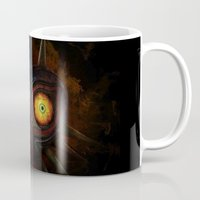 majora Mugs featuring Majora Mask  by DavinciArt