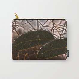 The Last Leaf in Autumn Carry-All Pouch