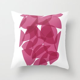 PINK ENCOUNTERS Throw Pillow