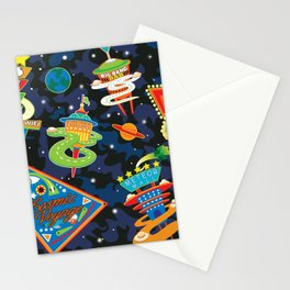 Cosmic Voyage Stationery Cards