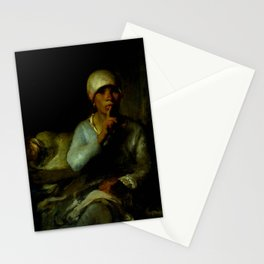 """Jean-François Millet """"Woman and Child (Silence)"""" Stationery Cards"""