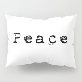 Peace Pillow Sham