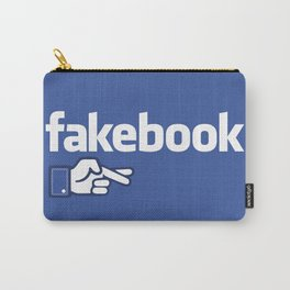 Fakebook Carry-All Pouch