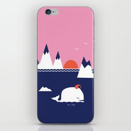 Little Whale iPhone Skin
