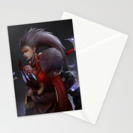 Blood Moon Diana Stationery Cards