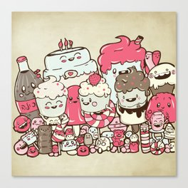 Sugar Overload Canvas Print