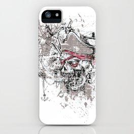 Skull Pirate - arrr, matey! iPhone Case