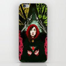 Robin's heart iPhone & iPod Skin