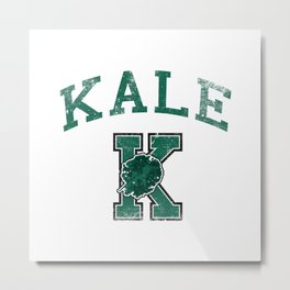 University of Kale Metal Print
