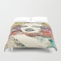 monroe Duvet Covers featuring MONROE by Smart Friend