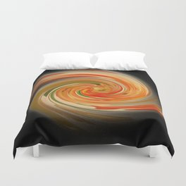 The whirl of life, W1.6B2 Duvet Cover