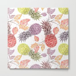 Juicy pineapple. Metal Print