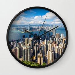 HONG KONG 01 Wall Clock