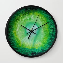 Green way Wall Clock