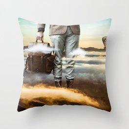 Reach Out Throw Pillow