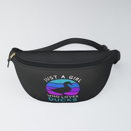 Just a Girl Who Loves Ducks Owner Lover Fanny Pack