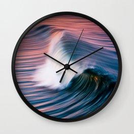 Sunrise Surf HB Pier 9/12/15  (Pk) Wall Clock