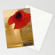Italian Poppies Stationery Cards
