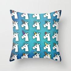 Almost Unicorn Throw Pillow