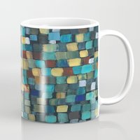 klimt Mugs featuring New Klimt  by Angela Capacchione