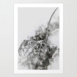 Deinonychus Art Print