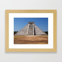El Castillo Framed Art Print