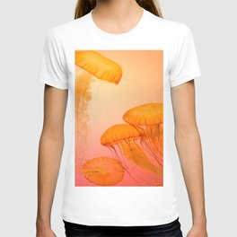Floating jellyfishes T-shirt
