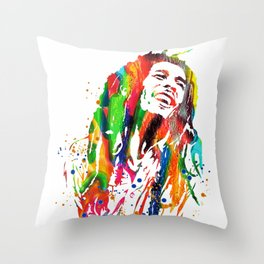 Marley poster Throw Pillow