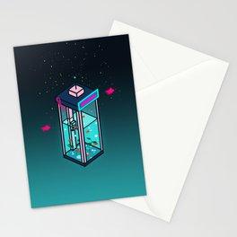 Vaporwave Phonebooth Stationery Cards