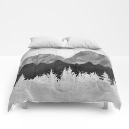 Layered Landscapes Comforters