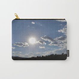 Sun Over Lake in White Mountains Arizona Carry-All Pouch