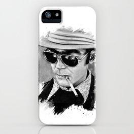 Hunter S Thompson iPhone Case