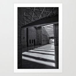 Katara Amphitheater, Doha Art Print