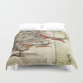 Fish of a Feather Duvet Cover