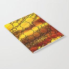 Golden Sun Strata Notebook