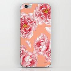 Peonies n.1 iPhone Skin