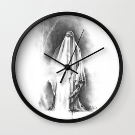 The Shape in Sheets Wall Clock