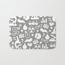 Grey Scientist Bath Mat