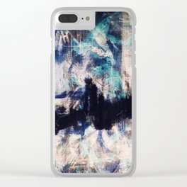 Interrupted Clear iPhone Case